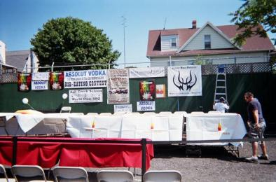 ASH CREEK SALOON NATIONAL RIB EATING COMPETITION