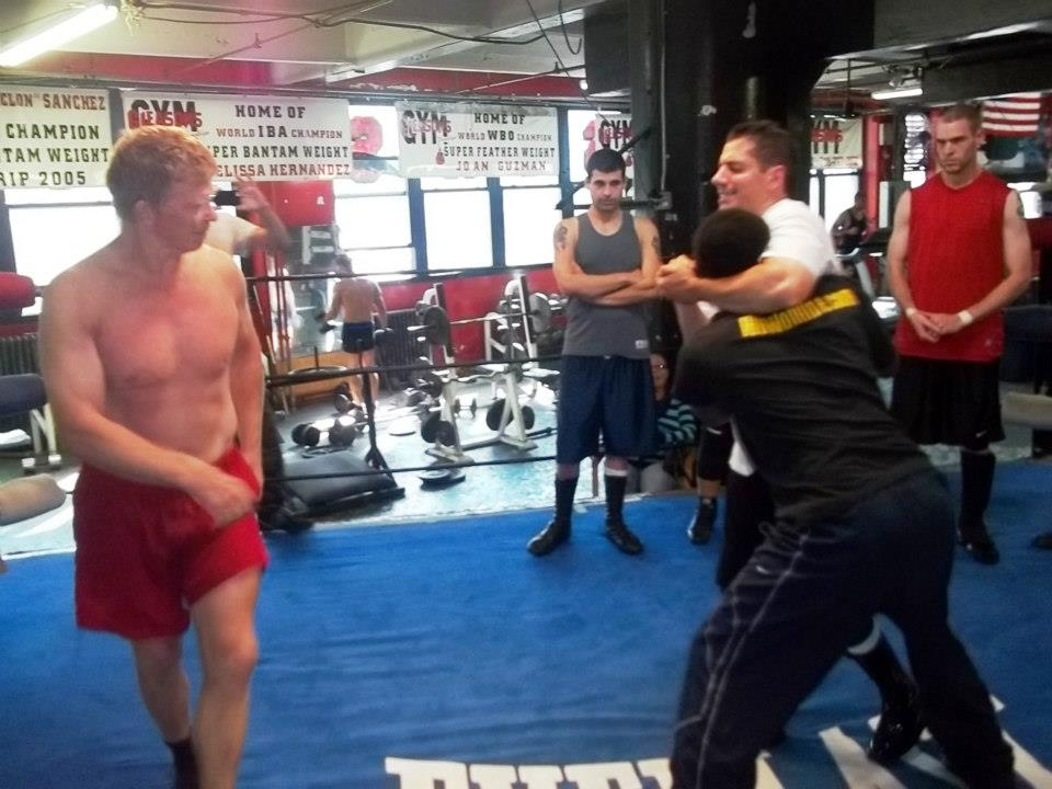 Bob Backlund makes an appearance to train the members of the WUW.