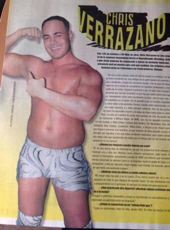 CHRIS VERRAZANO