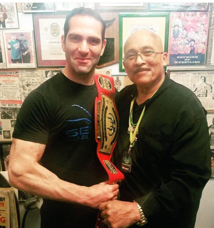 WWE Hall of Famer and Israel Joffe WUW