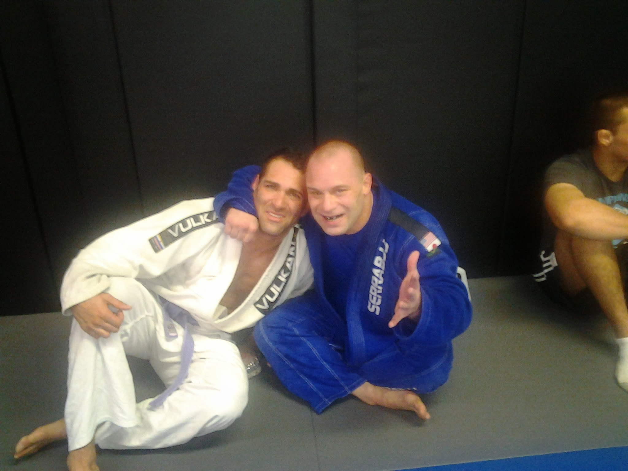 Israel Joffe and Matt Serra
